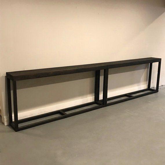Extra Long Console Table Combo Sofa