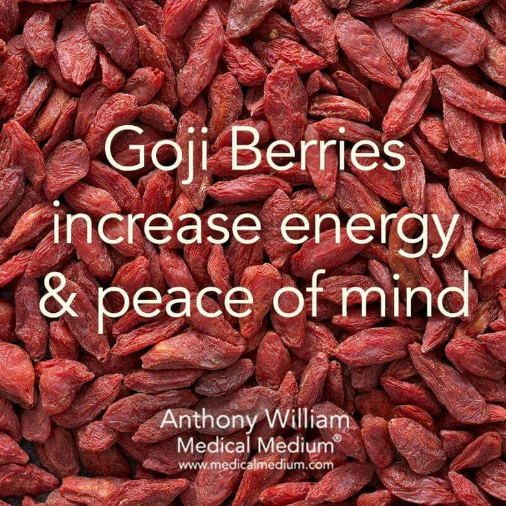 Going berries increase energy