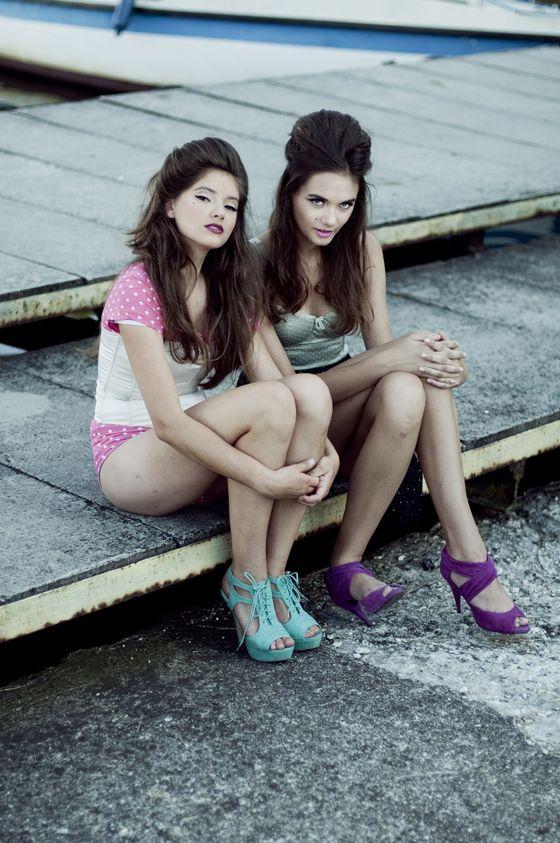 Aleksandra Jakubowska & Kornelia Jakubowska by Naomi Muras    http://thestylisto.com/models/159-aleksandra-jakubowska-kornelia-jakubowska-by-naomi-muras