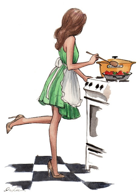 illustrations by Inslee Haynes: Sketch Book, Inslee Haynes, Art, Cooking, Kitchen, Things, Fashion Illustrations, Drawing, Fashion Sketch