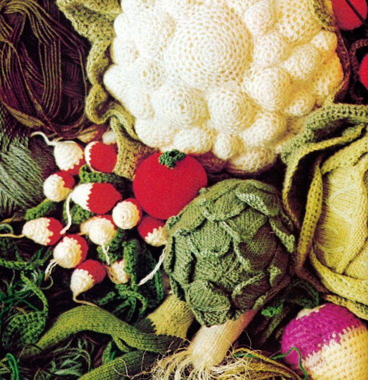 Crocheted Veggies
