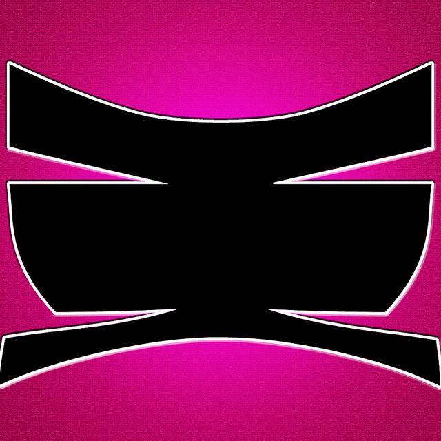 Pink Ranger Symbol by FrapJedi, via Flickr