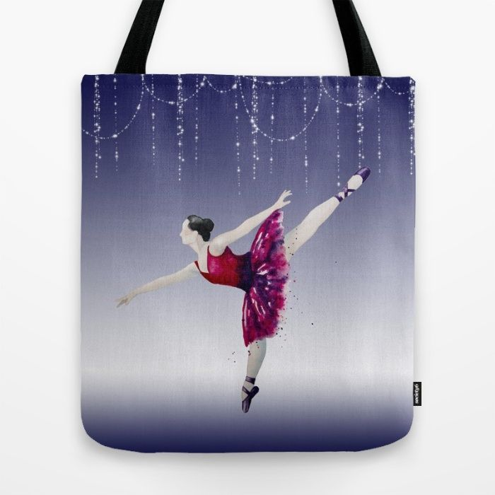 Grace and Beauty Tote Bag by The Willow Wood Studio | Society6