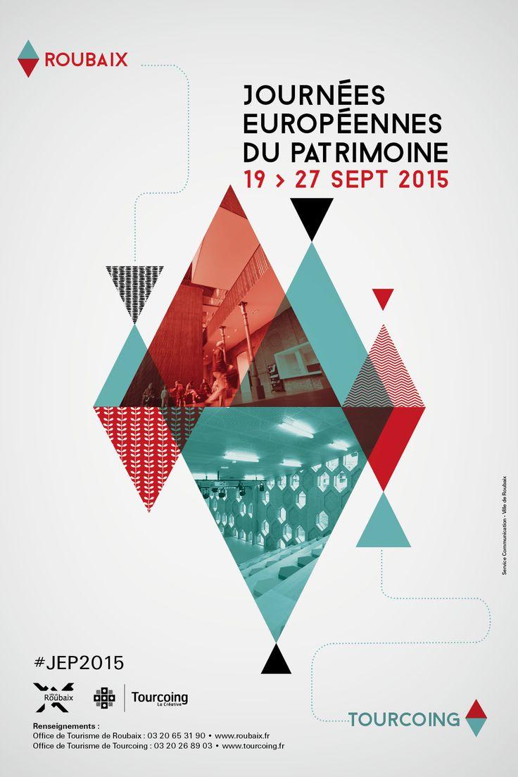 Journées Européennes du Patrimoine © création Amandine Derachinois - Ville de Roubaix