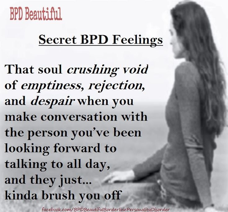 Dating Someone With Borderline Personality Disorder Poems