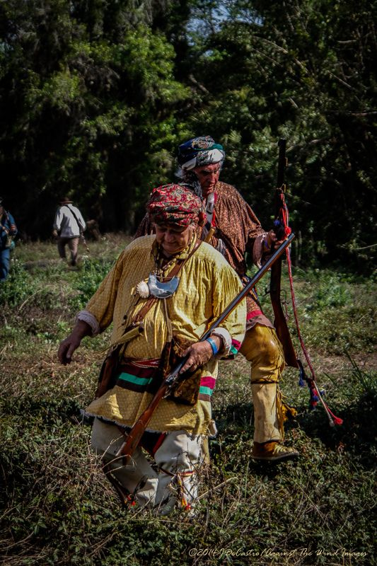 The re-eanactment of The Battle of Okeechobee is held annually at Okeechobee Battlefield Historic State Park in Okeechobee, Florida