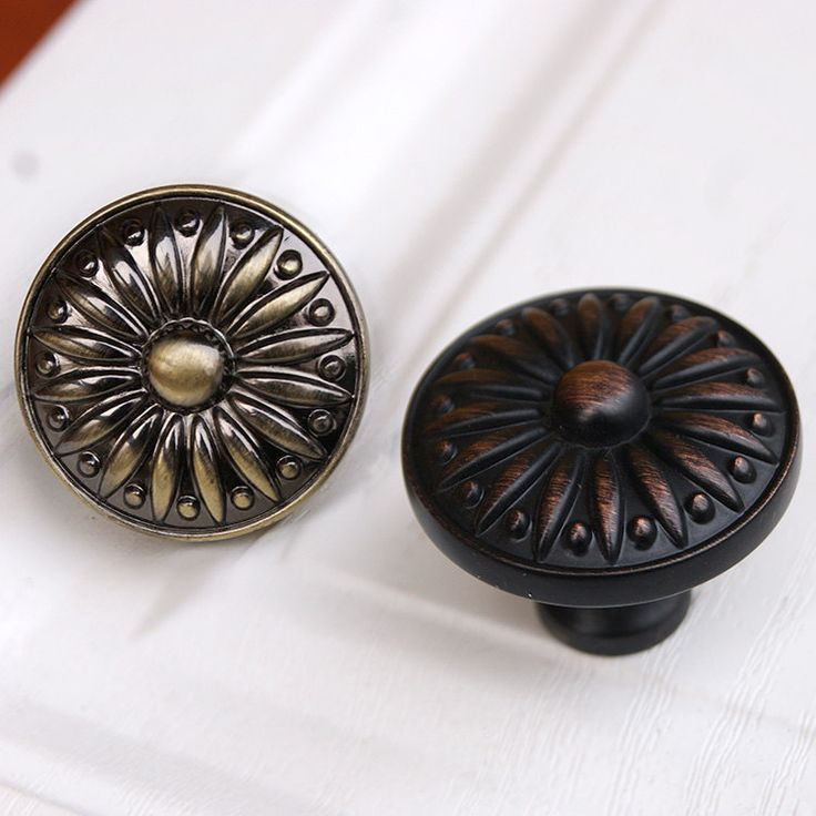 drawer knobs pulls antique brass black red copper small dresser knobs handles metal cabinet knobs pull - Cabinet Knobs And Handles