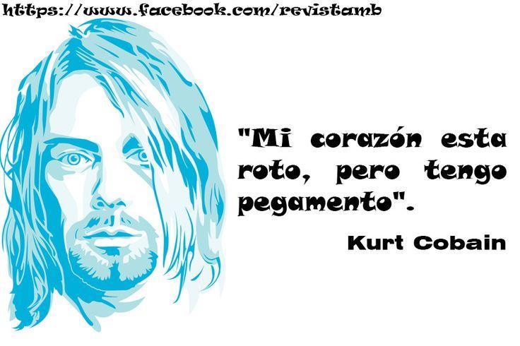 Homenaje a Kurt Cobain Frases ilustradas - Taringa!