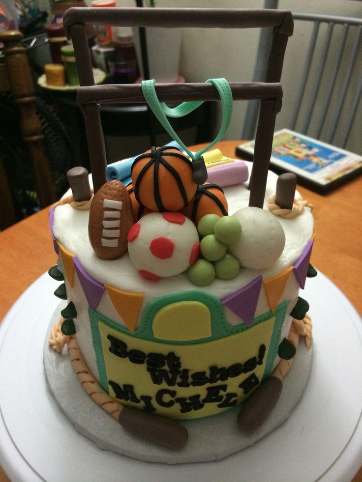 Athletic Cake Ideas