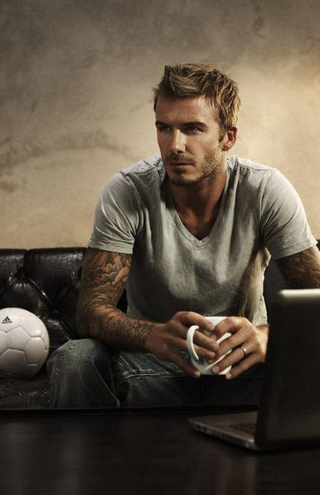 David Beckham - Love how he handles himself, his family and profession. Idol!!!