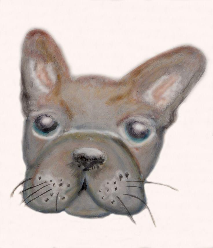 """""""Il piccolo sogno di Sofia"""" (a little french bulldog)"""