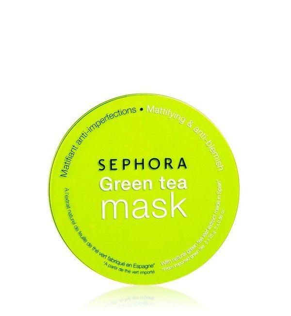 Sephora, maschera al Tè verde. Prezzo: 3,90 €.