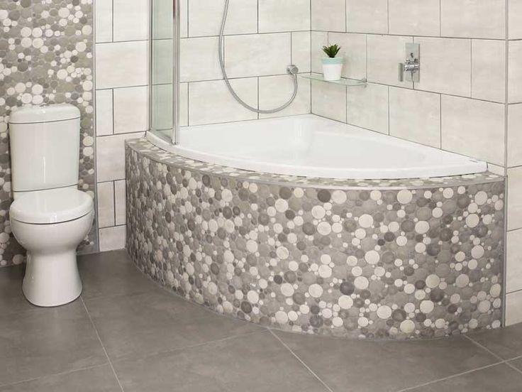 White Salina Left Hand Bath   CTM   Corner bath, Corner ...
