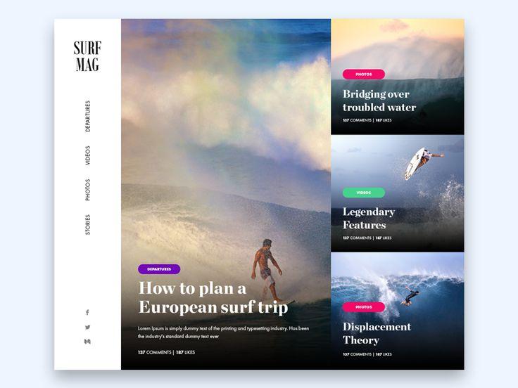 Surf Magazine by Rocco Gallo