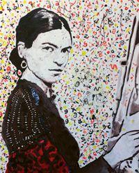 Frida (ART ID# 7572) By Koos De Wet