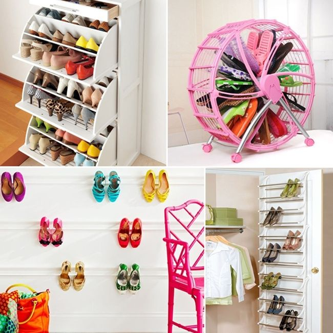 Shoe Storage Solutions for Your Home  - http://www.amazinginteriordesign.com/shoe-storage-solutions-for-your-home/