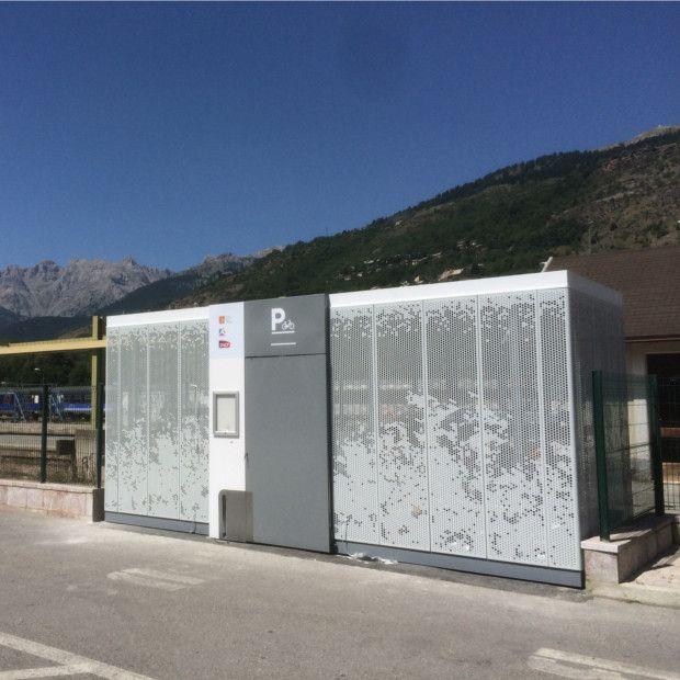 Abri vélo collectif autportant ALTAO Cigogne - SNCF PACA