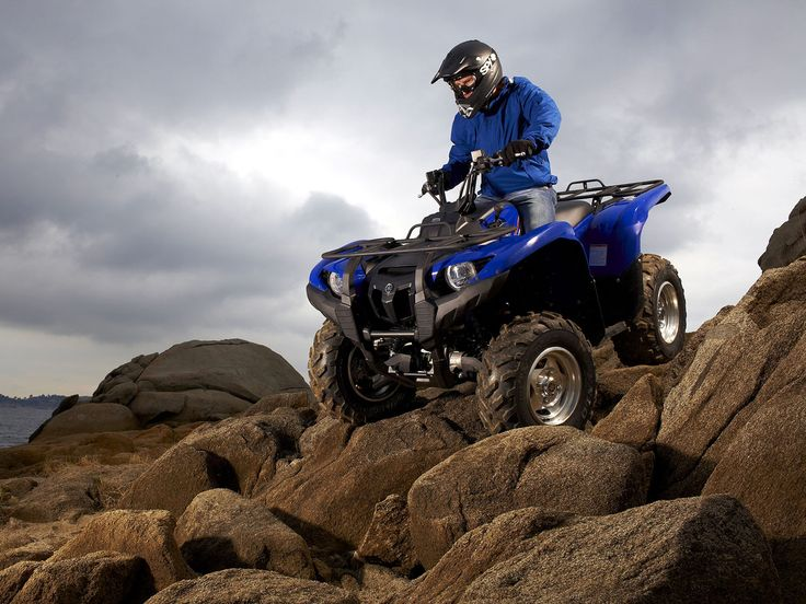 Yamaha ATV pictures Grizzly FI x EPS