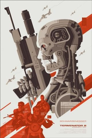 Terminator 2 Judgment Day Tom Whalen poster
