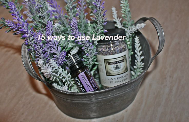 I love lavender and I am always looking for new ways to use it. There are so many ways to use the flower, here are 15 ways to use lavender