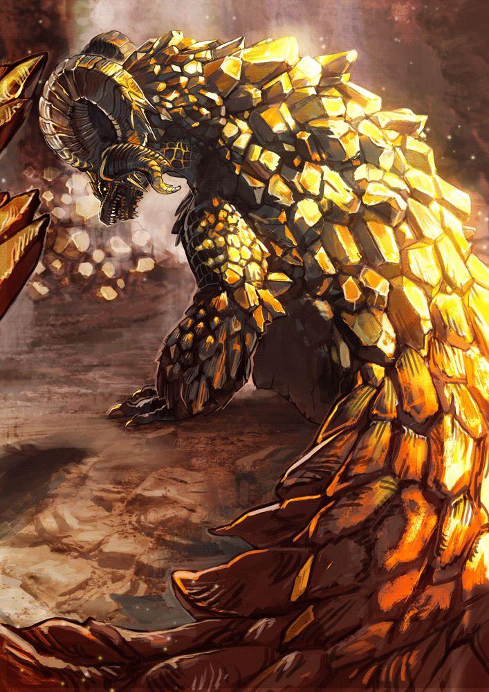 Kulve Taroth Mhw In 2019 Monster Hunter Art Monster