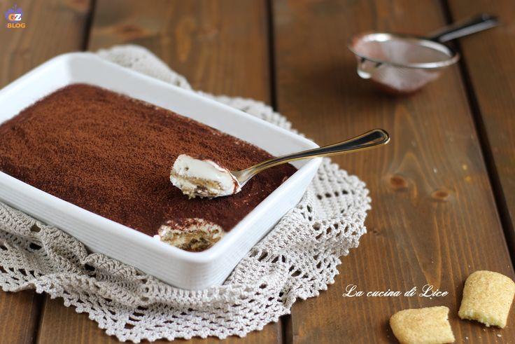 Tiramisù di pavesini e yogurt greco