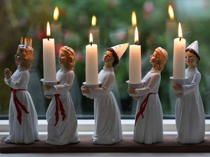 Lucia Adventsljustake