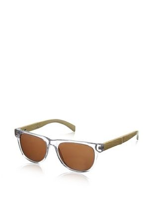 69% OFF Ivory + Mason Men's Arden Sunglasses, Shiny Crystal/Bamboo