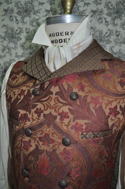 Men's Vest--Steampunk, via Etsy.