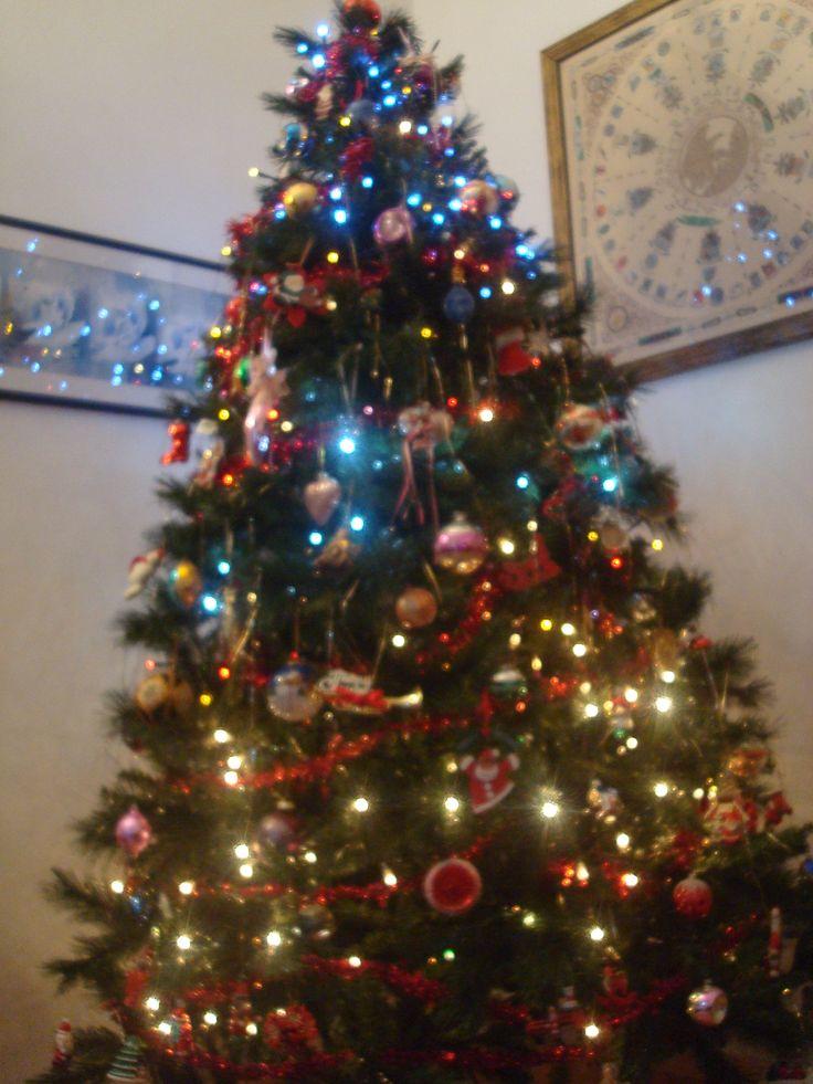 Buon Natale a tutti con il mio albero