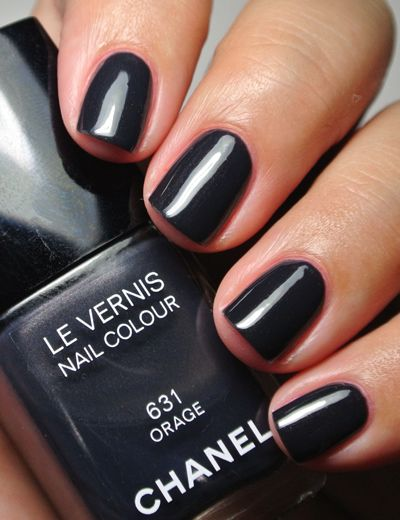 chanel nail polish ideas