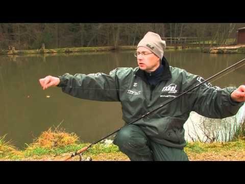 Forellenangeln im Winter Teil 1 - YouTube