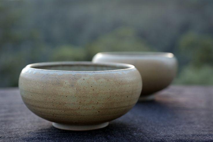 Bowls made by David Collins Ceramics, Berry NSW Australia.  Photo Brycen Horne