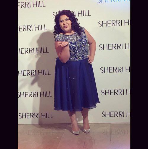 Photo: Raini Rodriguez So Pretty In New York For Sherri Hill Fashion Show September 13, 2015 - Dis411