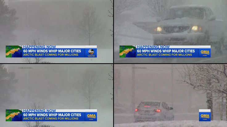 Grand Rapids, MI Snow - ABC Good Morning America - 4/3/16