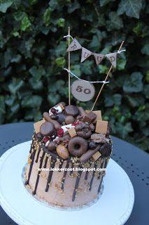lekker zoet: chocolade bom voor Ruud 50 jaar