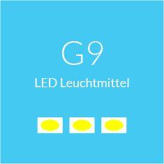 G9 LED Leuchtmittel