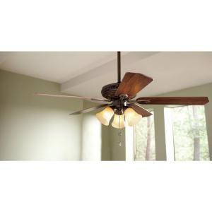 Hampton Bay Glendale 52 In Oil Rubbed Bronze Ceiling Fan