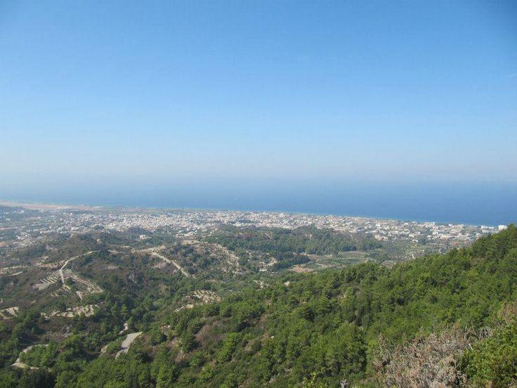 Filerimos, Rhodes, Greece.