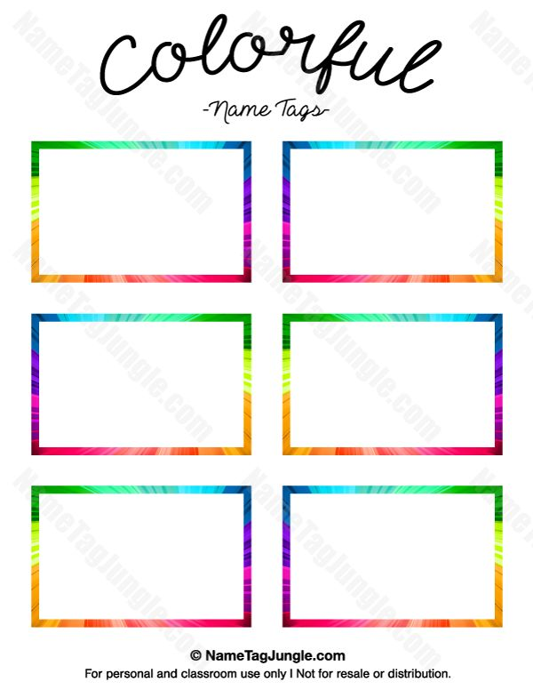 Name Templates Pertaminico - Sample name tag templates