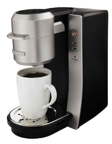 Mr. Coffee BVMC-KG2-001 Single Serve Coffee Maker, Silver - http://thecoffeepod.biz/mr-coffee-bvmc-kg2-001-single-serve-coffee-maker-silver/
