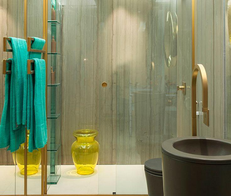 Casa cor pernambuco 2015 loft da blogueira by sandra brand o cuba de piso cilindrica m fsc - Piso sandra ...