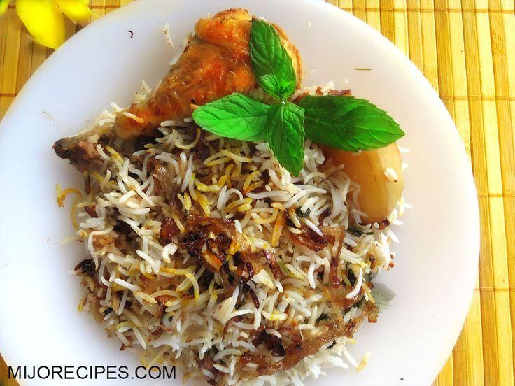 Mauritian Chicken Biryani Recipe | Chicken Briani| Mauritian Recipes