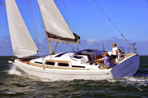 Hanse 345 Small Yacht Sailing
