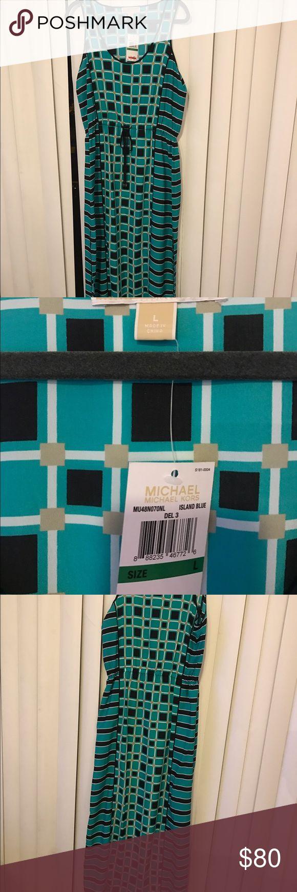 Michael kors Tank Maxi Dress L BNWT Michael Kors Dresses Maxi