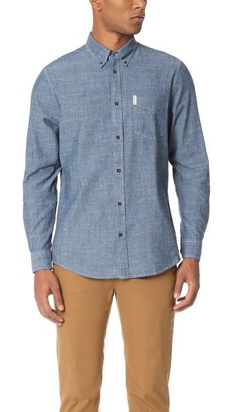 A slim, essential chambray shirt from Ben Sherman.