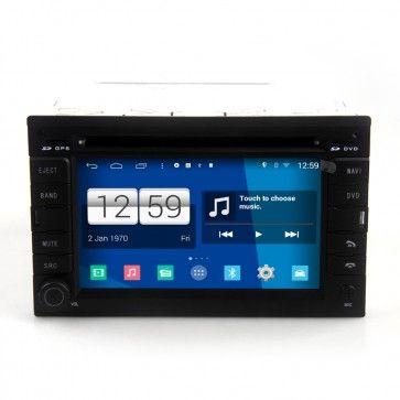 Autoradio GPS DVD VW GOLF4/B5 S160 Android 4.4.4 avec HD Ecran tactile Support Smartphone Bluetooth kit main libre Microphone RDS CD SD USB 3G Wifi TV MirrorLink