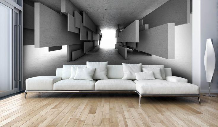Optyczne powiększenie pomieszczenia fototapetą 3D http://mural24.pl/konfiguracja-produktu/97581277/