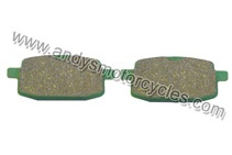Details:    FA 193 Kyoto brake pads to fit the front brake calliper of all Aprilia SR 50 models and years.    Each purchase is for 1 pair of brake pads (per Calliper).    Kyoto brake pads are an extremely high quality brake pad, offered by Andy's Motorcycles, at an extremely competitive price.    Kyoto brake pads have exceptional braking power, whilst constantly ensuring the minimum wear to brake discs.