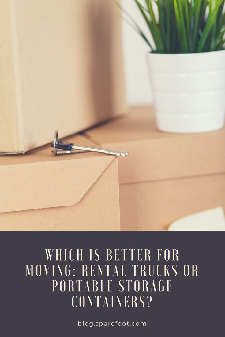If you want to avoid the hassle of loading a rental truck and driving it to your new home, there's another moving option to consider: portable storage containers. In addition to offering storage services, portable container companies will deliver units directly to your new home. Here is a list of pros and cons to consider when choosing between a rental truck and a portable storage container.